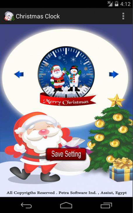 CHRISTMAS CLOCK Pro Image 1