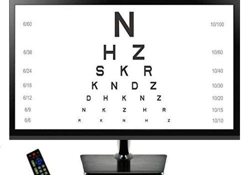 Auto Eye Chart Screen Device