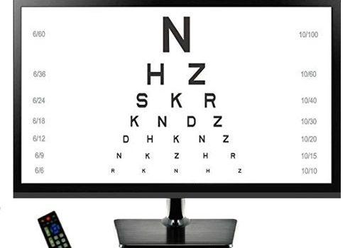 Auto Eye Chart Screen Device